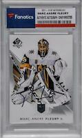 Marc-Andre Fleury Vegas Golden Knights Signed 2017-18 UD SP Authentic #31 Card