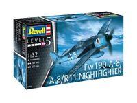 Revell 03926 - 1/32 WWII Dt. Focke Wulf Fw190 A-8, A-8/R11 Nightfighter - Neu