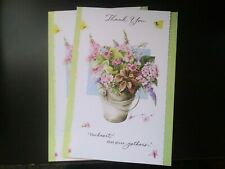 Lot 2 Pretty Marjolein Bastin Thank You Greeting Cards The Heart That Gives