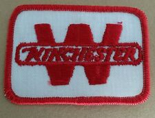 VINTAGE WINCHESTER RED/WHITE PATCH