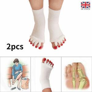 Alignment Socks Massage Open Five Toe Separator Sports Health Care Yoga Gym Foot