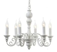 French Country Iron 4-6 Lights Chandeliers