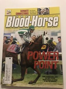 Blood Horse Magazine-Point Given Wins Preakness