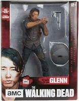 "The Walking Dead Figurine Glenn Legacy Edition McFarlane 10"" NEW DAMAGED BOX"