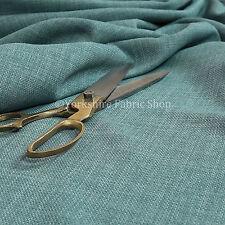 Nueva Ropa de Cama efecto suave material ligero de Tela De Tapicería Chenille azul claro