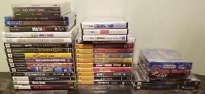 (36) NEW Factory Sealed Mixed Lot Video Games