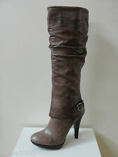 "Fab Geox ""Keira"" taupe leather knee high boots, UK 3/EU 36, RRP £250.00, BNWB"