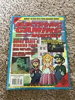 EGM Electronic Gaming Monthly #27 October 1991 RARE Super Mario 4 Cover