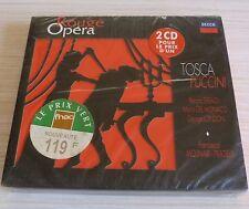 RARE COFFRET 2 CD ALBUM DIGIPACK OPERA ROUGE LA TOSCA - PUCCINI GIACOMO NEUF