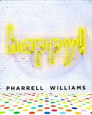 HAPPY ! Harcover Book by Pharrell Williams - 32 Pages FREE SHIPPING