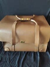 Vintage Military Issue Leather Briefcase Type III US Property~Pilot Bag~Steward