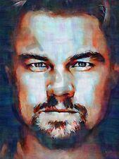 LEONARDO Wilhelm DiCaprio Departed art print poster pittura ad olio llff0109