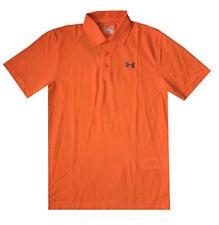 NEW Under Armour Men UA Golf Cotton Blend Short Sleeve Polo T-Shirt S, M, L, XL