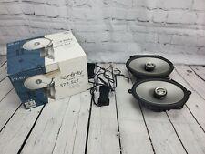 Infiniti Kappa Series 572.5cf Car Speakers, 5 X 7 w/ Crossovers in Original Box