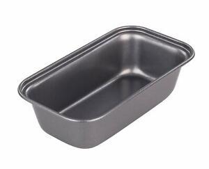 CHEF AID SMALL MINI OBLONG LOAF TIN DISH PAN 10E10310