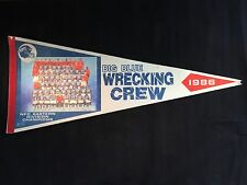 NY Giants - 1986 NFC EAST Division Champs Pennant - Big Blue Wrecking Crew -