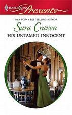 His Untamed Innocent (Harlequin Presents), Sara Craven, 0373129610, Book, Good