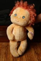 Hugga Bunch Huggins Plush Doll Pink Hair Kenner