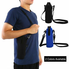 1000ML Water Bottle Carrier Insulated Cover Bag Holder Strap Pouch Outdoor DD