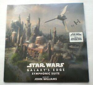 "STAR WARS John Williams Galaxy's Edge Symphonic Suite 12"" Picture Vinyl Disc OST"