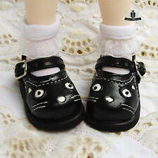 1/6 BJD Shoes Yosd Dollfie DIM Lolita Black cat Shoes Dollmore AOD DOD SOOM LUTS