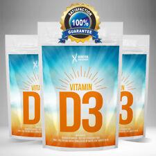 Vitamin D3 5000IU Tablets MAX Strength Pills (not capsules) Feel Good SUPERFOOD