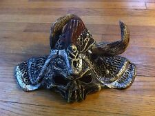 youth size haunted scary horror macabre creepy skeleton Viking Halloween mask