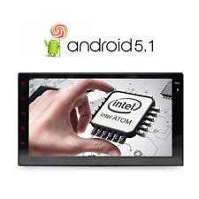 "Android 5.1 Double 2 DIN 7"" Car Stereo GPS Sat Nav DAB+ WiFi AM/FM Radio Mirror"