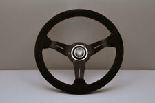 NARDI Deep Corn 330mm Suede Black Spoke Steering Wheel - 6069.33.2094 IN STOCK