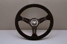 NARDI Deep Corn 330mm Suede Black Spoke Steering Wheel - 6069.33.2094 IN STOCK