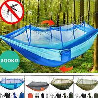Amaca da campeggio con amaca in rete leggera portatile in nylon per esterno N5B0