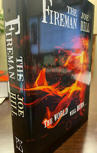 SIGNED, LETTERED: The Fireman by Joe Hill, PS Publishing (PC)