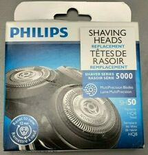 Philips Shaver Series 5000 Replacement Shaving Heads SH50 NEW