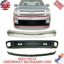 Front Bumper Chrome Valance Extension For 2007 2013 Chevrolet Silverado 1500 Fits 2013 Silverado 1500