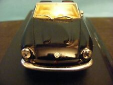 Fiat 124 Spyders in Black 1:43rd Scale Starline Model for collectors.