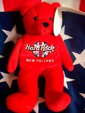 HRC HARD ROCK CAFE New Orleans Rita Bear Beara Orso Teddy Herrington