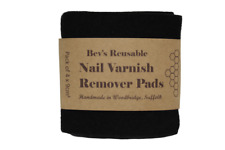 Nail Varnish/Polish Remover Pads |Cruelty-free, Washable, Reusable, Eco-friendly