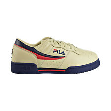 Fila Original Fitness Men's Shoes Cream-Peacoat-Fire Red 11F16LT-275