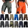 Men Cycling Mountain Bike MTB Bicycle Off Road Baggy Shorts Pants Zip Pockets