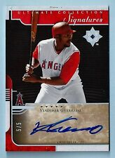 VLADIMIR GUERRERO 2005 ULTIMATE COLLECTION SIGNATURES AUTOGRAPH AUTO # 5/5
