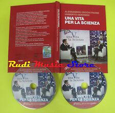 DVD film + BOOK LIBRO Cecchi Paone Veronesi UNA VITA PER LA SCIENZA 2009 no(D3)
