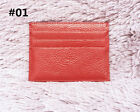 MEN'S GENUINE LEATHER Thin Wallet ID Money Credit Card Slim Holder Front Pocket