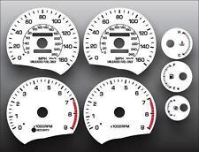 1989-1999 Toyota MR2 160 MPH Dash Instrument Cluster White Face Gauges