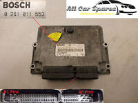 Fiat Stilo 1.9 JTD Diesel Manual - Main Engine ECU - 0 281 011 553