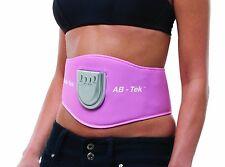 Bodi Tek AB TONING Belt EMS Stomach Muscle Body Toner Toning Firming System Pink