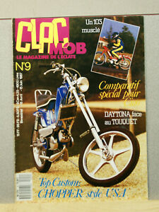 Magazine Clac Mob N°9 - moto mobylette scooter solex