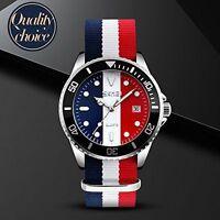 Simple Design Military Analogue Japan Movement Quartz Sport Wrist Watch Calendar
