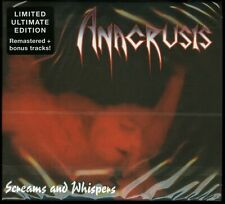 Anacrusis Screams And Whispers Ultimate Edition CD new