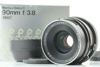 【 Exc+5 w/ Hood 】Mamiya Sekor C 90mm f3.8 Lens for RB67 Pro S SD From Japan