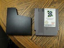 Pipe Dream ( Nintendo, 1990 ) Cartridge & Sleeve